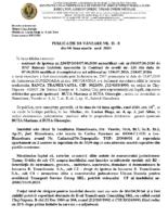 1067-2019B apartament cu doua camere, Hunedoara, str. Viorele